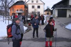 2. tradicionalni množični pohod na Vrh, 27.1.3013