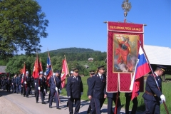 Florjanova maša v Češnicah 8.5.2011
