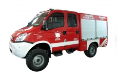 Izdelava gasilskega vozila GVV-1