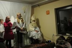 Najmlajše v KS Dob obiskal Miklavž